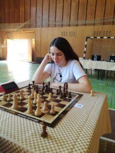 Световната шампионка за момичета до 12г. - Нюргюл Салимова