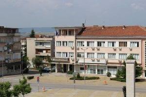 община и център