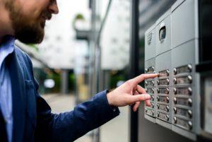 Контрол на достъп за бизнес сгради
