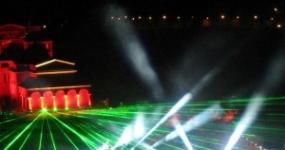 3D Mapping светлинно шоу (видео)